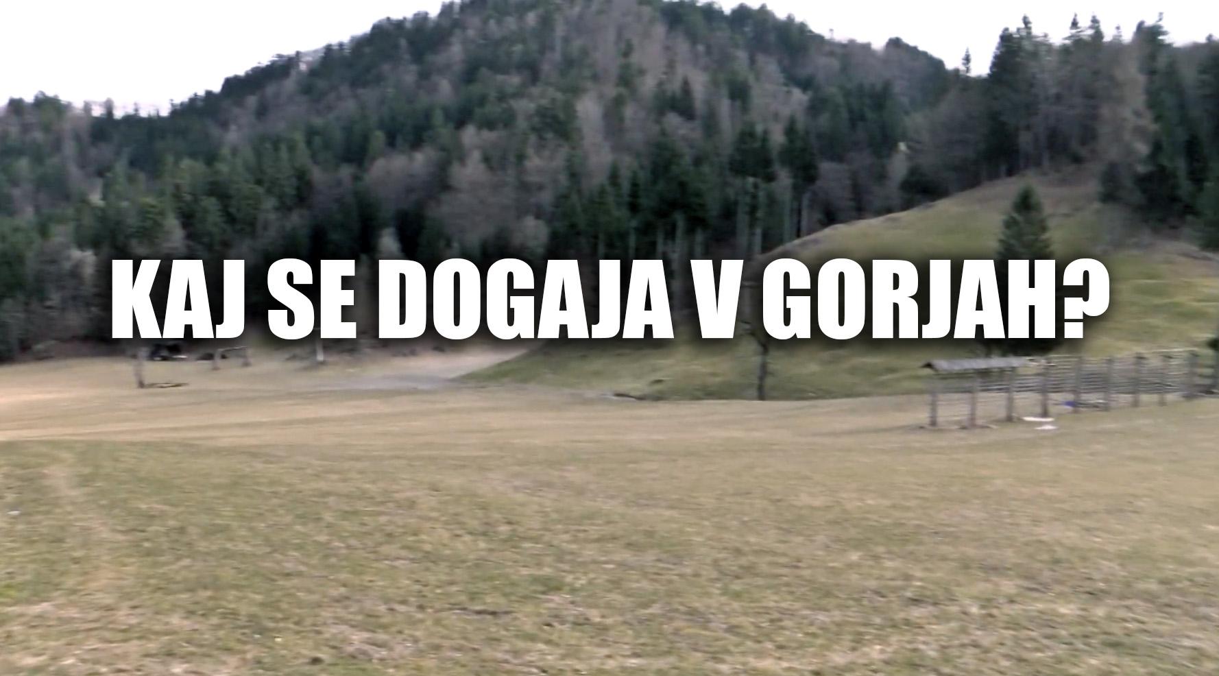 Kaj se dogaja v Gorjah ?